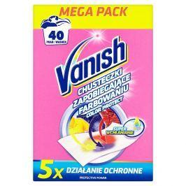 Vanish Color protect ubrousky, 40 praní 20 ks/bal.