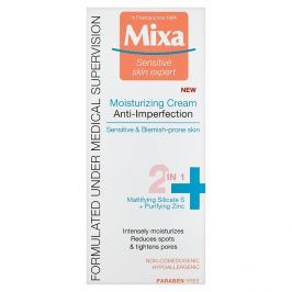Mixa Sensitive Skin Expert hydratační krém 2v1 proti nedokonalostem 50 ml