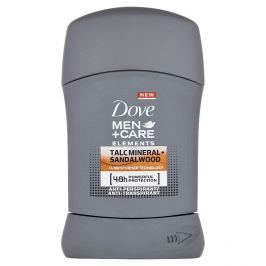 Dove Men+Care Elements Minerals & Sandalwood tuhý antiperspirant pro muže 50 ml