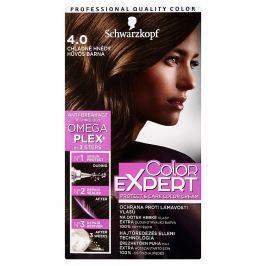 Schwarzkopf Color Expert barva na vlasy 4.0 Chladně hnědý, 50 ml