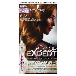 Schwarzkopf Color Expert barva na vlasy 6.65 Zlatě čokoládový, 50 ml