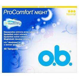 O.B. ProComfort Night normal tampony  48 ks