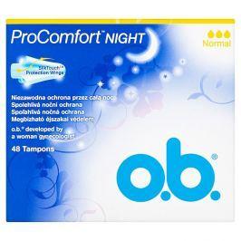 O.B. ProComfort Night normal tampony  48 ks