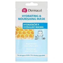 Dermacol textilní hydratační a vyživující maska 3D pro všechny typy pleti 1 ks