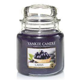 Yankee Candle vonná svíčka střední Cassis, 411 g