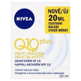 Nivea Q10 Plus denní krém proti vráskám mini 20 ml
