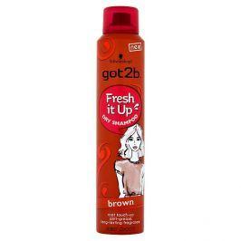 got2b Fresh it Up suchý šampon pro hnědé vlasy 200 ml
