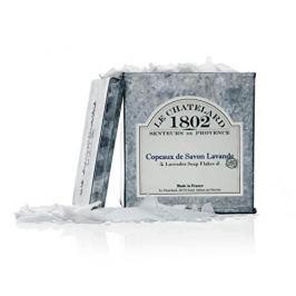 Le Chatelard Strouhané vločky levandulového mýdla v zinkové krabičce  575 ml