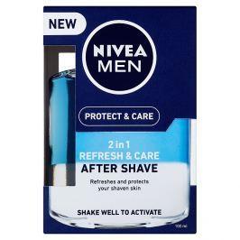 Nivea Men Protect & Care Pečující voda po holení 2 v 1 100 ml