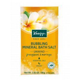 Kneipp pěnivá minerální sůl do koupele Odpočinek 80 g