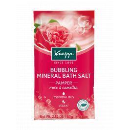 Kneipp pěnivá minerální sůl  do koupele Rozmazlování 80 g