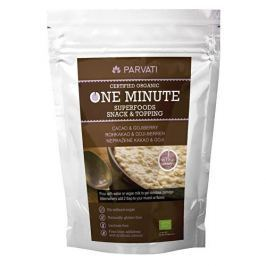 One Minute SUPERFOODS snack & topping NEPRAŽENÉ KAKAO A GOJI 300 g