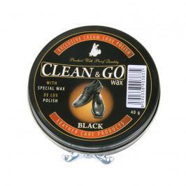Clean&Go krém na obuv v plechovce černý 40 g