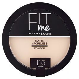 Maybelline Fit Me Matte & Poreless pudr 115 Ivory