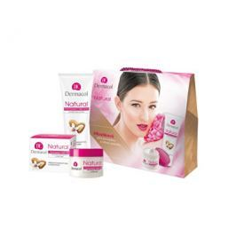 Dermacol Natural dárková sada s mandlovým olejem  50 ml + 100 ml