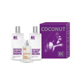 Brazil Keratin Coconut Set dárková sada pro suché a poškozené vlasy 300 ml + 300 ml +100ml
