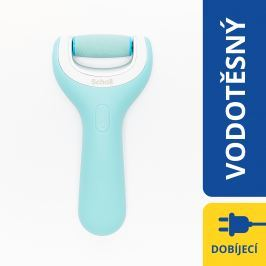 Scholl Velvet Smooth Pro Dárková sada Elektrický pilník na chodidla do vody + náhradní hlavice Extra drsná
