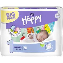 Bella Happy Newborn 1 pleny, 2–5 kg 78 ks