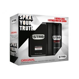 STR8 Original dárková sada - voda po holení + deodorant ve spreji 100 ml + 150 ml
