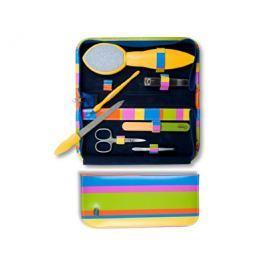 Credo Solingen Pop Art žlutá luxusní 7 dílná sada na pedikúru a manikúru