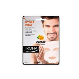 Iroha intenzivní látková maska pro muže svitamínovým komplexem 23 ml