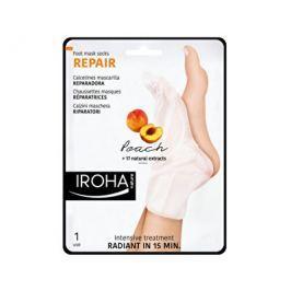Iroha regenerační maska na nohy a nehty sbroskvovým sérem  2 x 9 ml