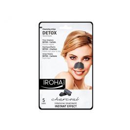 Iroha čistící proužky na nos s dřevěným uhlím 5 ks
