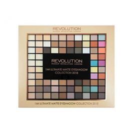 Makeup Revolution Ultimate Matte Eye Shadow Collection 2018 paletka 144 matných očních stínů 116 g