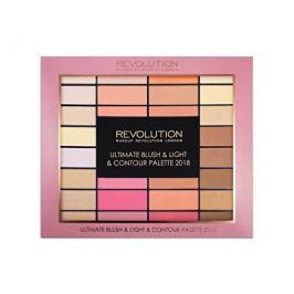 Makeup Revolution Ultimate Blush & Light & Contour Palette 2018 paletka tvářenek