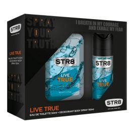 STR8 Live True dárková sada toaletní voda a deodorant 50 ml + 150 ml