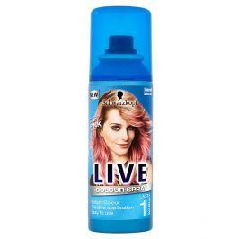 Schwarzkopf Live Color Candy Pink vlasový sprej 120 ml