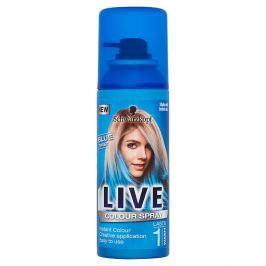 Schwarzkopf Live Color Blue Twist vlasový sprej 120 ml