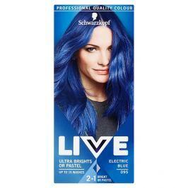 Schwarzkopf Live Ultra Brights or Pastel barva na vlasy Electric Blue 095 50 ml