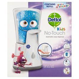 Dettol Kids bezdotykový dávkovač mýdla a náplň Dobrodruh 250 ml
