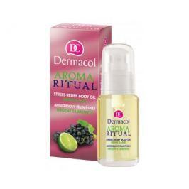 Dermacol antistresový tělový olej Hrozny s Limetkou  50 ml
