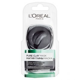 L'Oreal Paris Pure Clay intenzivní čisticí rozjasňující maska 6 ml