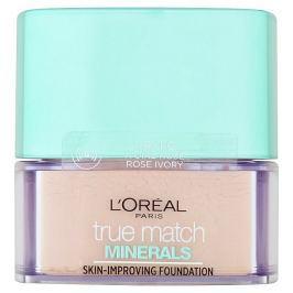 L'Oréal Paris True Match Minerals minerální pudr 1R/1C Rose Ivory, 10 g