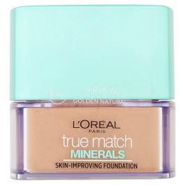 L'Oréal Paris True Match Minerals minerální pudr 4D/4W Golden Natural, 10 g