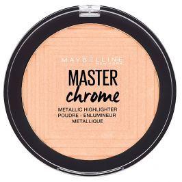 Maybelline Master Chrome pudrový rozjasňovač 50 Molten Rose Gold, 6,7 g