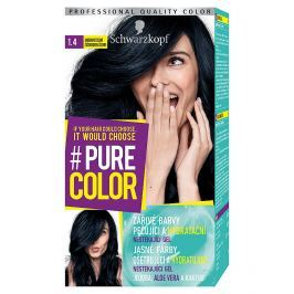 Schwarzkopf Pure Color barva na vlasy  Borůvkově Černá 1.4, 60 ml
