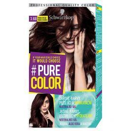 Schwarzkopf Pure Color barva na vlasy  Tmavá Třešeň 3.68, 60 ml