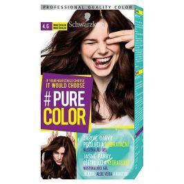 Schwarzkopf Pure Color barva na vlasy  Tmavá Čokoláda 4.6, 60 ml