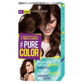 Schwarzkopf Pure Color barva na vlasy  Zlatá Čokoláda 5.5, 60 ml