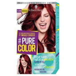 Schwarzkopf Pure Color barva na vlasy  Malinová Červená 6.88, 60 ml
