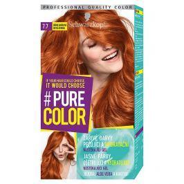 Schwarzkopf Pure Color barva na vlasy  Zářivá Skořicová 7.7, 60 ml