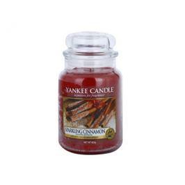 Yankee Candle Classic velký vonná svíčka Třpytivá skořice, 623 g