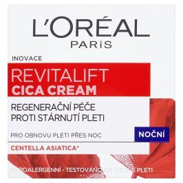 L'Oréal Paris Revitalift Cica Cream noční regenerační péče proti stárnutí pleti 50 ml