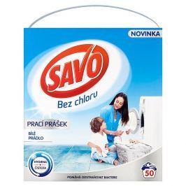 SAVO prací prášek bílé prádlo 50 praní 3 Kg