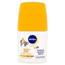 Nivea Sun Protect & Sensitive dětské mléko na opalování v kuličce OF 50+ 50 ml