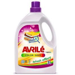 Avrilé Color Save prací gel na barevné prádlo, 50 praní 3 l